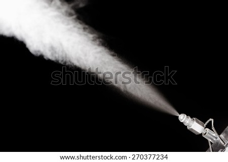 industrial water sprayer of air humidifier - stock photo