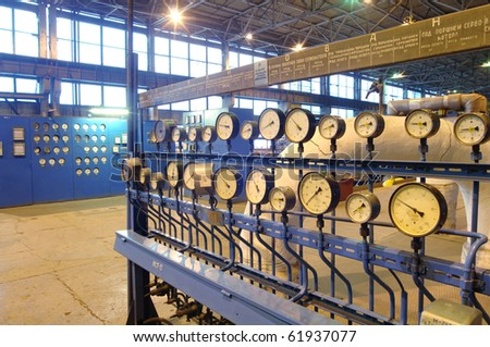 Industry Installations power - stock photo