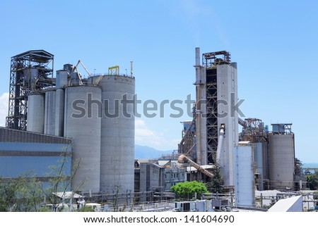 Industry plant - stock photo