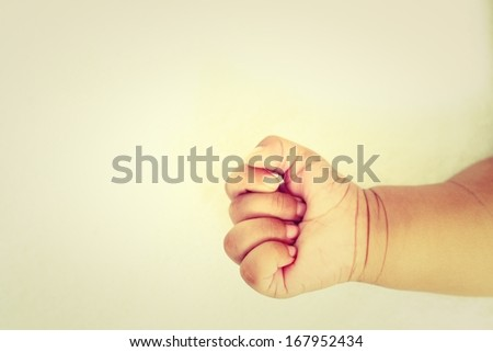 Infant new born - stock photo
