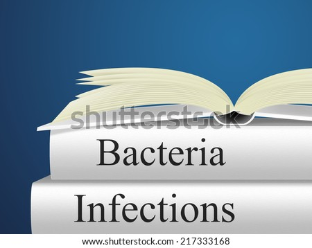 Infection Bacteria Indicating Health Care And Microbe