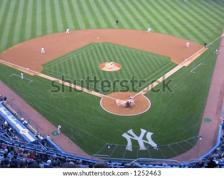 Infield of Yankees Stadium