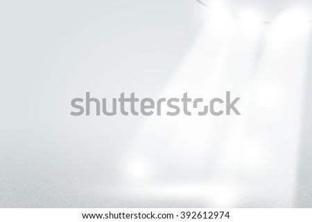 Infinite White Studio Lights Background - stock photo