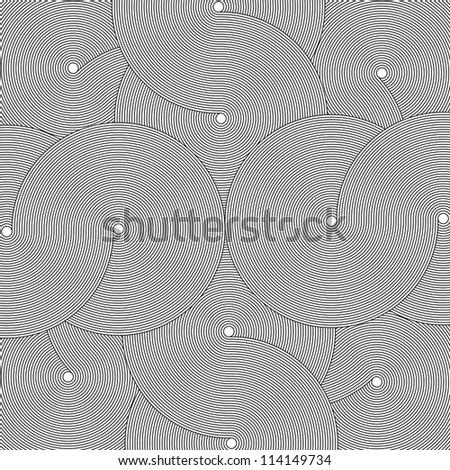 Infinity Circles - stock photo