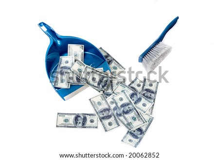 Inflation, denomination - all that can happen with your money - stock photo