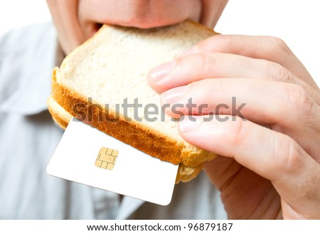 Inflation. That you can place in a sandwich - your money.