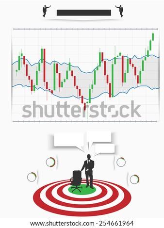 Binary option trading infographic