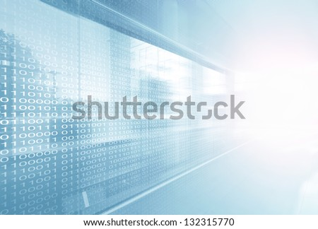Information Display	 - stock photo