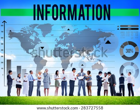 Information Facts Research Result Source Concept - stock photo