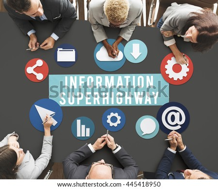 "the internet an information superhighway to the netizens (the backbone of the us portion of the global internet)  more information about  netizens is ""the net and  information superhighway."