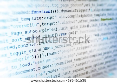 Information technology website coding standards for web design Young business crew working with startup. Big data database app. SEO optimization. Mobile app building. Software development.