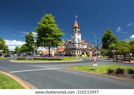 Information/Tourist Centre, Rotorua, New Zealand