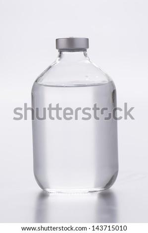 infusion bottle - stock photo