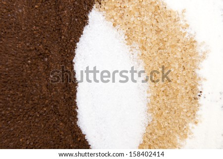 Ingredient of coffee,sugar,creamer