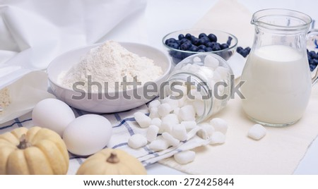 ingredients - stock photo
