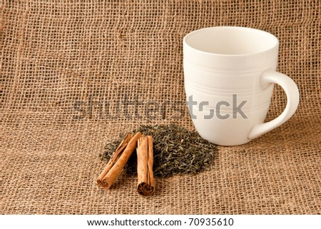 Ingredients for spiced tea - stock photo