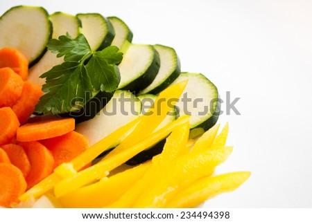 Ingredients for vegan food - stock photo