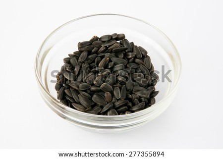 Ingredients: Sunflower Seeds - stock photo