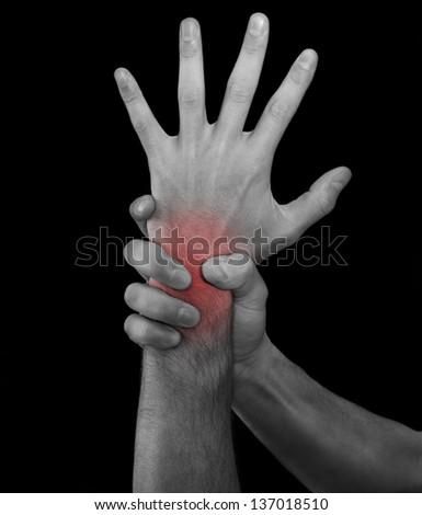 Injury.Medical concept - stock photo