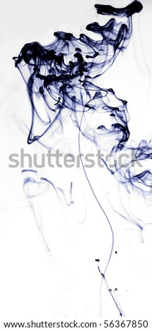 ink in water - stock photo