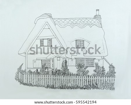 Chocolate Box Cottage Stock Images Royalty Free Images Vectors