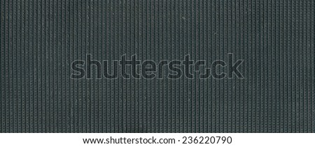 Inner side of a textured rubber sheet - stock photo