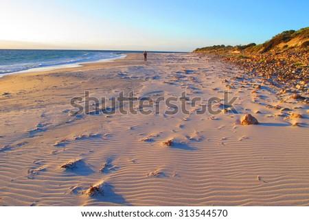 innes national park, south australia - stock photo
