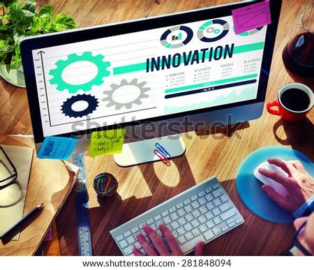 Innovation Invention Progress Future Development Concept - stock photo
