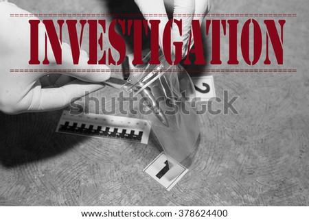 inscription - stock photo