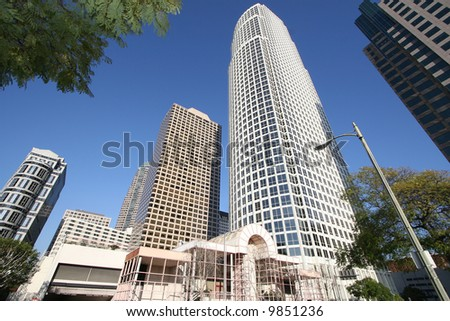 Inside Downtown - Los Angeles - stock photo