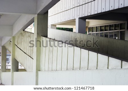 inside hospital building - stock photo