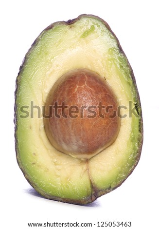 inside of an avocado studio cutout