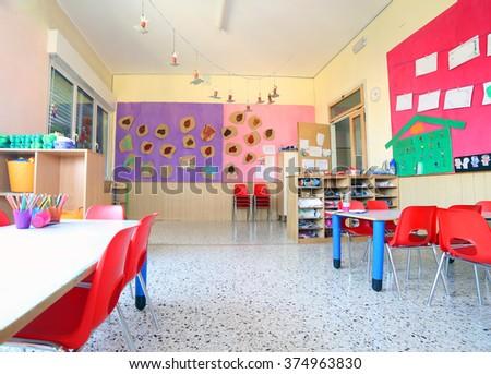 Kindergarten Classroom Stock Images RoyaltyFree Images Vectors