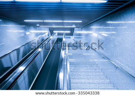 Inside the building - stock photo