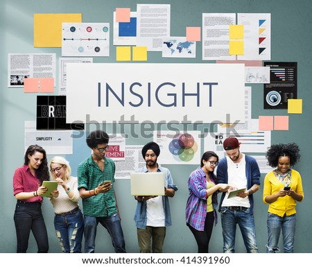 Insight Perception Awareness Judgment Seeing Concept - stock photo