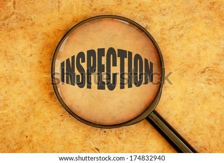 Inspection - stock photo