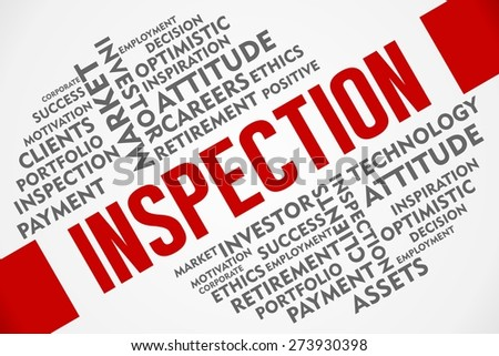 INSPECTION word of business