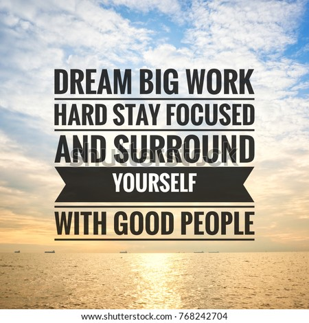 Daily Motivational Quotes For Work Endearing Morning Quotes Daily Inspiration Stock Photo 763377064  Shutterstock
