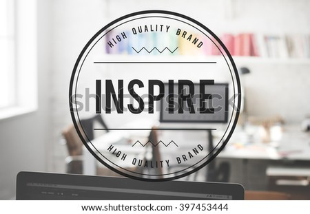 Inspire Aspiration Innovate Motivation Imagination Concept