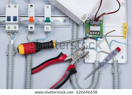 Installation Of Electrical Deviceselectric Wirestools