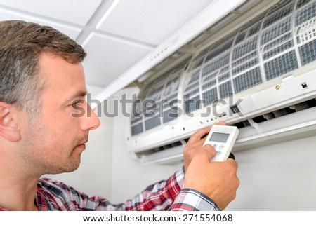 Installing an air conditioning unit