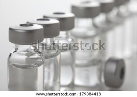 Insulin Vials - stock photo