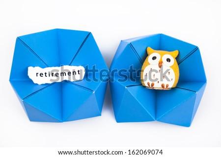 insurance for retirement - stock photo