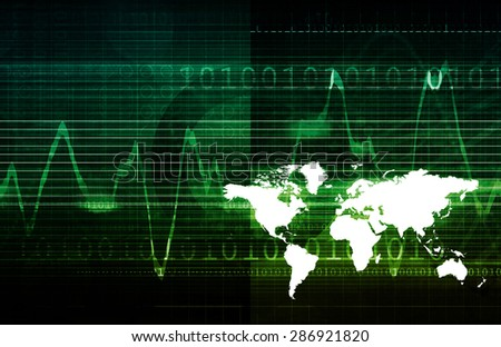 Integrated Technologies on a Global Level Concept - stock photo