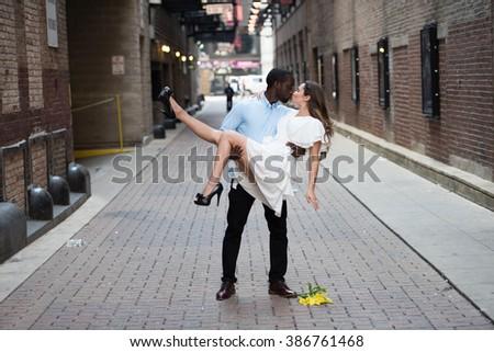 Intense feeling of love - stock photo