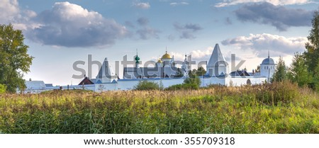 Intercession (Pokrovsky) Monastery in Suzdal.The Golden Ring of Russia - stock photo