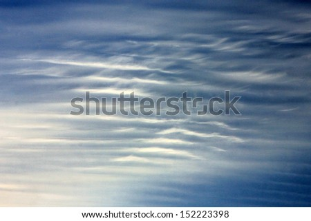 Interesting cloud background. - stock photo