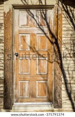 Interesting doorways. - stock photo