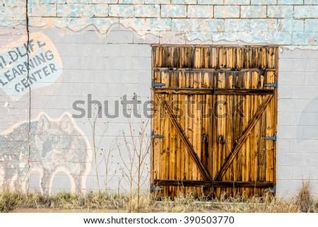 Interesting doorways - stock photo