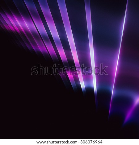 Interesting geometric pattern in techno style, with unusual elements   - stock photo